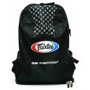 BAG4 Рюкзак Fairtex (Backpack black). Цвет черный.