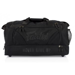 BAG2 Сумка Fairtex Black on Black. Цвет черный.